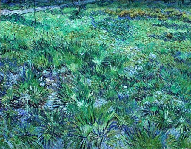 Long Grass with Butterflies   1890   Vincent van Gogh