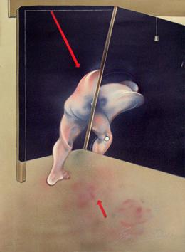 Logique de la sensation 1981 Lithographie d'après Francis Bacon, signée au crayon par l'artiste.
