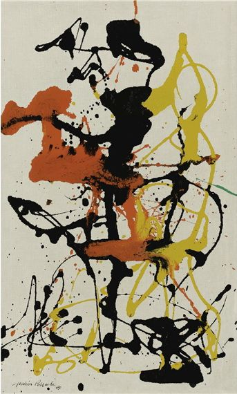 Number 26 - Jackson Pollock, 1949