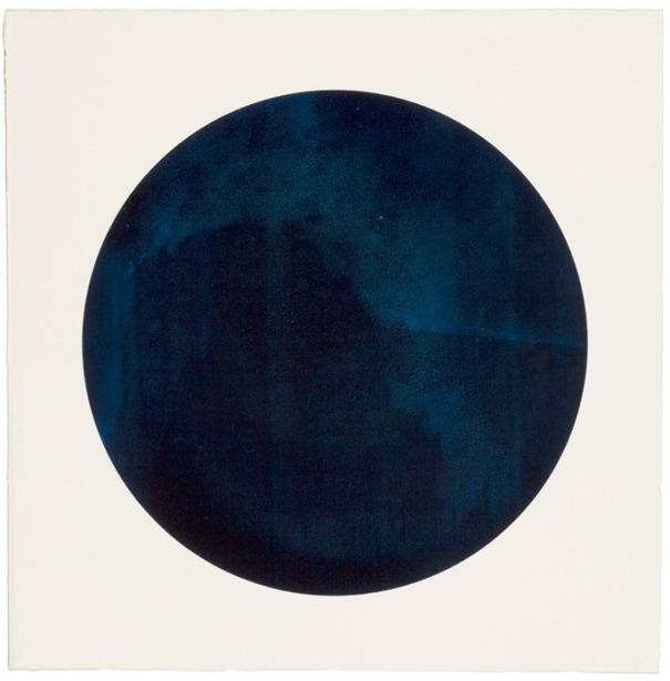 Constellations, série de monotypes sérigraphies, formats divers, 2008.