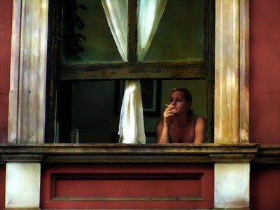 Early Sunday Morning by Edward Hopper